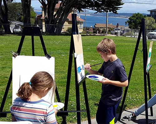 Summer Art Camp Plein Air